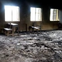 #Nigeria : News : Suspected Political Thugs Burn Down Dino Melaye's Constituency Project