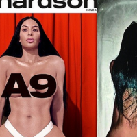 #Gist : Kim Kardashian Poses Nude In Photoshoot