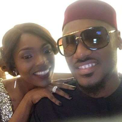 Annie-Idibia-and-2Face-celebrating-3rd-anniversary